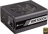 Corsair RM1000x PC-Netzteil (Voll-Modulares Kabelmanagement, 80 Plus Gold, 1000 Watt, EU)