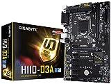 Gigabyte GA-H110-D3A Motherboard DDR4-Speicher Mehrfarbig
