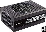 Corsair HX1200 PC-Netzteil (Voll-Modulares Kabelmanagement, 80 Plus Platinum, 1200 Watt, EU)