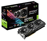 Asus ROG Strix GeForce GTX1080TI-O11G Gaming Grafikkarte (Nvidia, GDDR5X, Aura Sync RGB für bestes VR und 4K Gaming & farblich abgestimmte PCs)